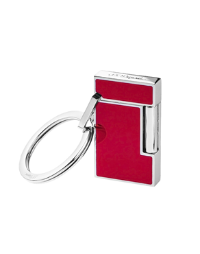 S.T. Dupont Red Lacquer Lighter Shaped Key Holder, 003048
