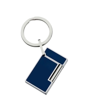 S.T. Dupont 003047 L2 LIGHTER KEY RING BLUE