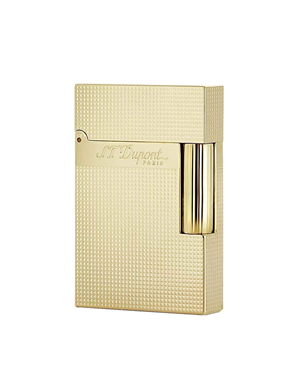 S.T. Dupont Ligne 2 Small Lighter Microdiamond Yellow Gold, D-C18692