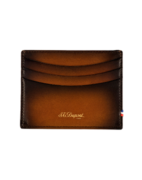 S.T. Dupont 190402 Carte credit atelier Tobacco brown