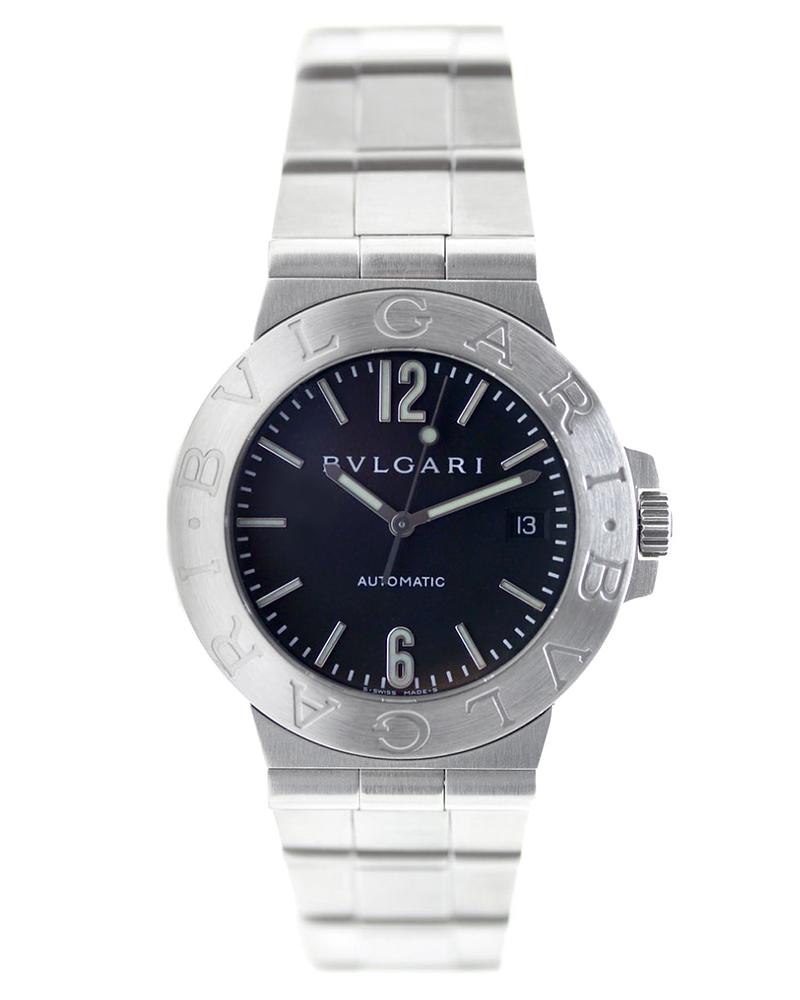 Ρολόι Bulgari Diagono LCV38SSD   ρολογια bulgari