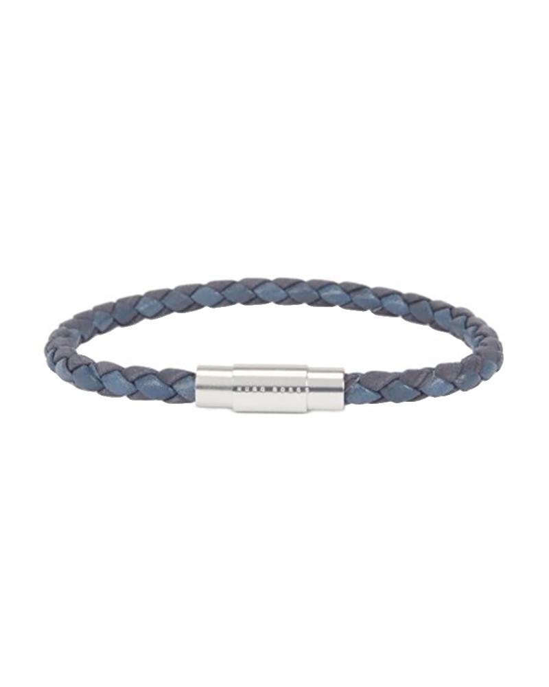 HUGO BOSS 50397361 410 BLAINE Δερμάτινο Βραχιόλι   νεεσ αφιξεισ κοσμήματα ανδρικά