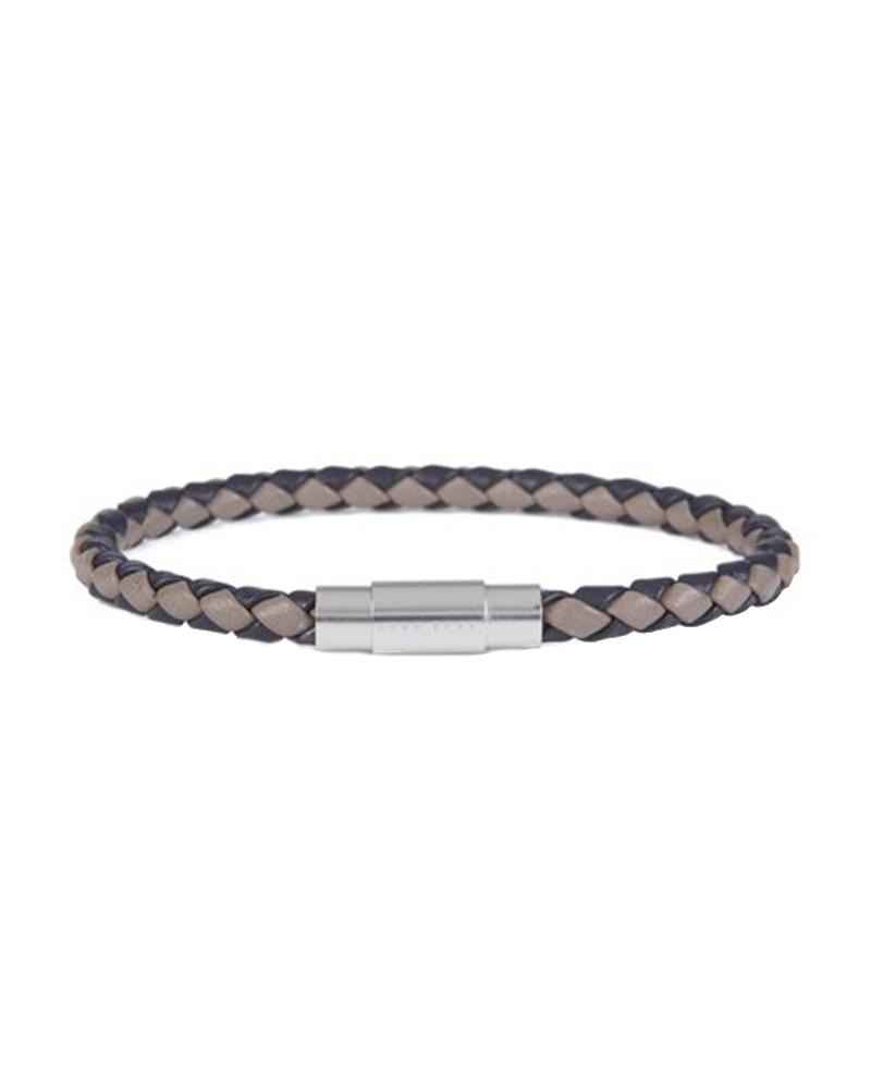 HUGO BOSS 50397361 001 BLAINE Δερμάτινο Βραχιόλι   νεεσ αφιξεισ κοσμήματα ανδρικά