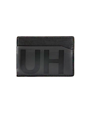 HUGO BOSS Black Reversed-logo card holder 50407554 001 Xray