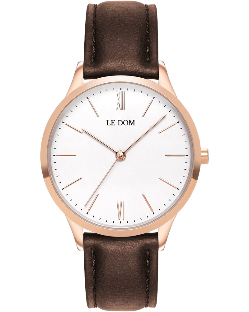 Ρολόι LE DOM Classic Brown LD.1000-15   νεεσ αφιξεισ ρολόγια