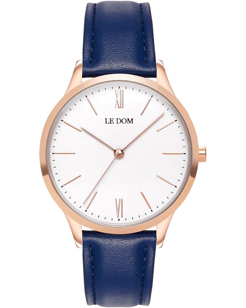 Ρολόι LE DOM Classic Blue LD.1000-21   νεεσ αφιξεισ ρολόγια