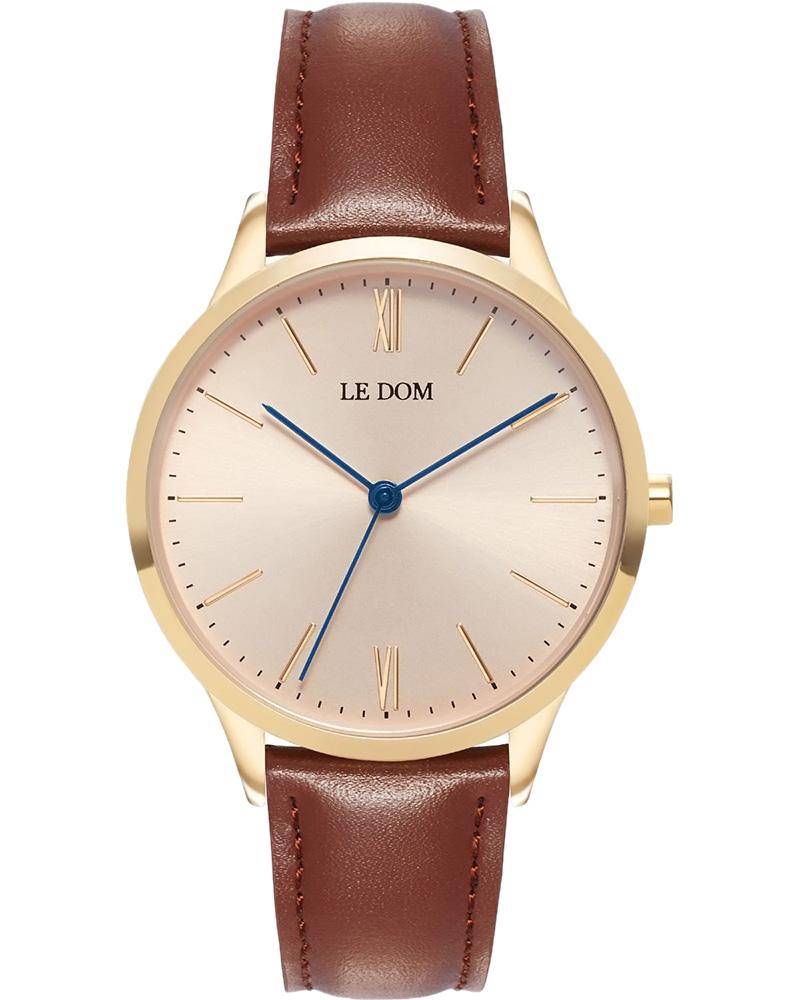 Ρολόι LE DOM Classic Brown LD.1000-24   νεεσ αφιξεισ ρολόγια