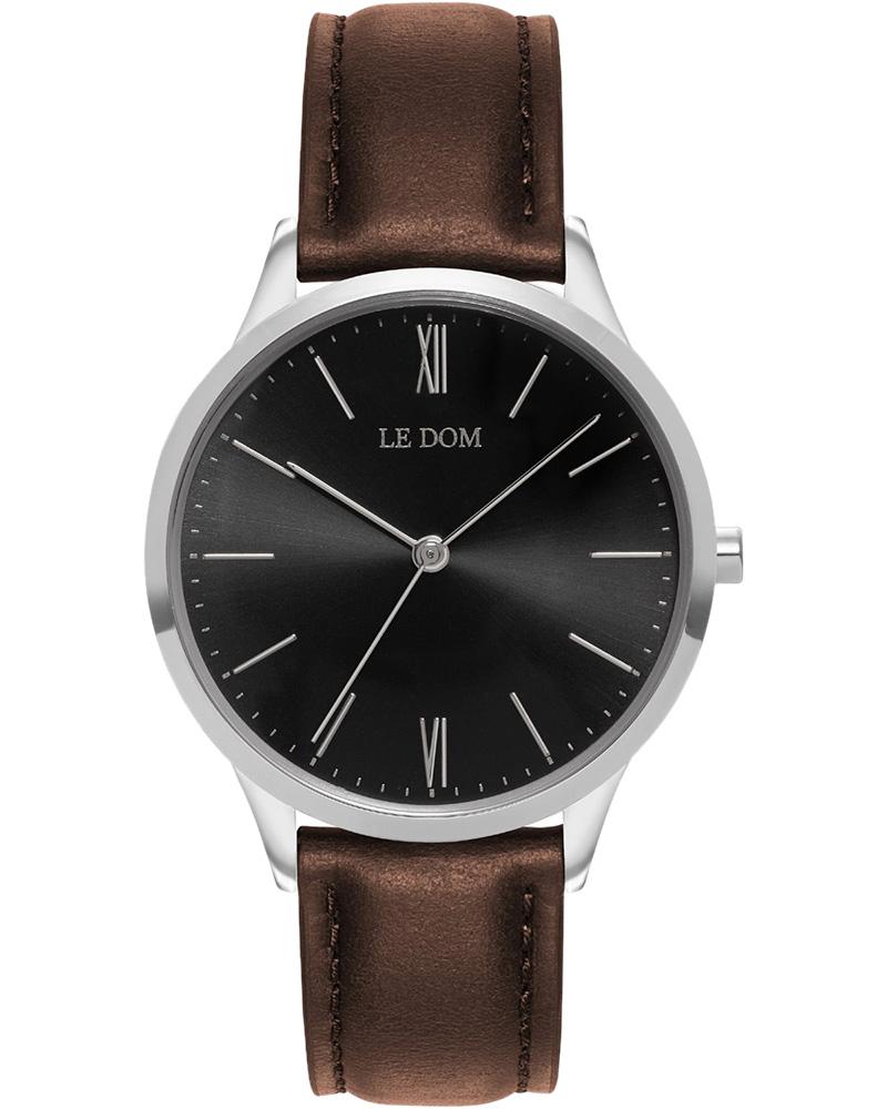 Ρολόι LE DOM Classic Brown LD.1000-3   νεεσ αφιξεισ ρολόγια