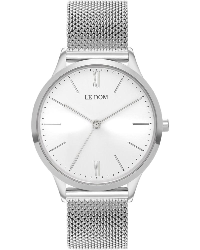 Ρολόι LE DOM Classic Silver LD.1000-4   brands le dom
