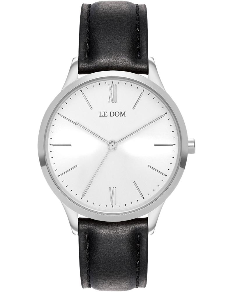 Ρολόι LE DOM Classic Black LD.1000-5   νεεσ αφιξεισ ρολόγια