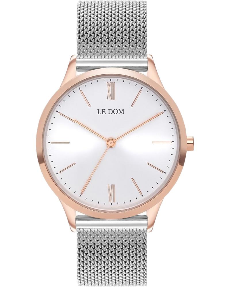 Ρολόι LE DOM Classic Silver LD.1000-7   brands le dom