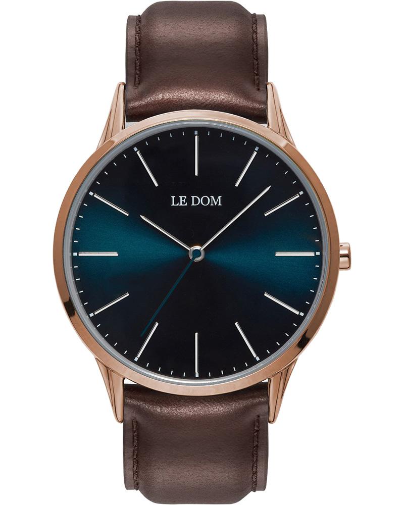 Ρολόι LE DOM Classic Brown LD.1001-13   νεεσ αφιξεισ ρολόγια