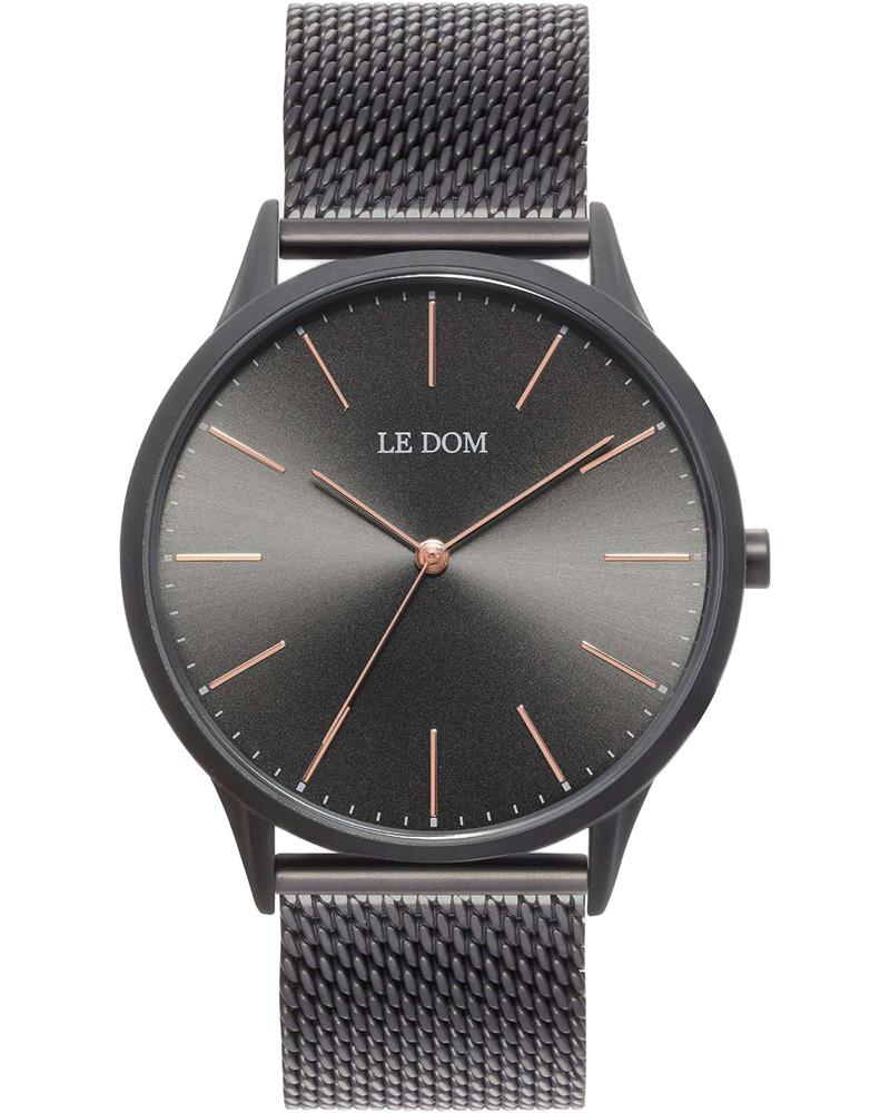 Ρολόι LE DOM Classic Black LD.1001-2   νεεσ αφιξεισ ρολόγια