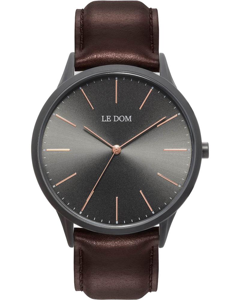 Ρολόι LE DOM Classic Brown LD.1001-4   νεεσ αφιξεισ ρολόγια