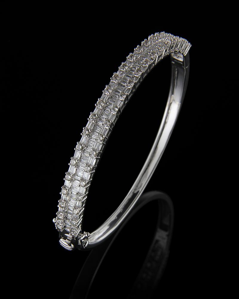 Βραχιόλι λευκόχρυσο Κ18 με Διαμάντια   γυναικα βραχιόλια βραχιόλια διαμάντια