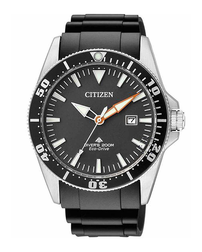 Ρολόι CITIZEN Eco-Drive Divers Black BN0100-42E   brands citizen
