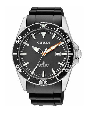 Ρολόι CITIZEN Eco-Drive Divers Black BN0100-42E