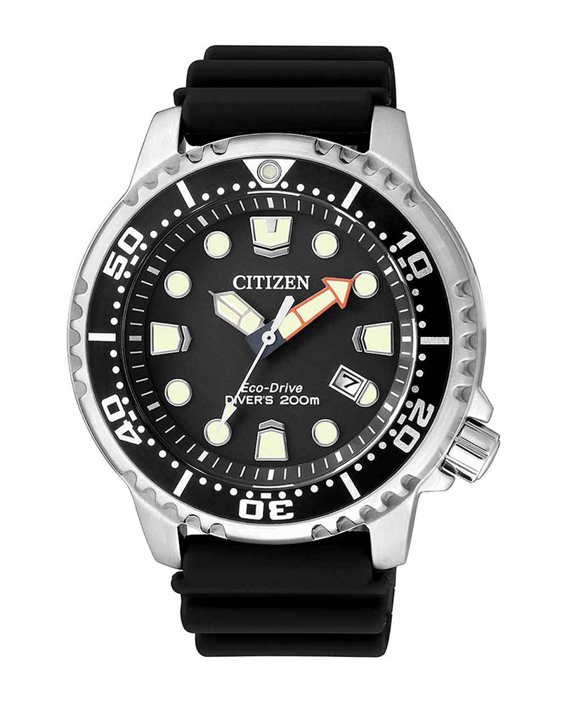 Ρολόι CITIZEN Eco-Drive Divers Black BN0150-10E   brands citizen