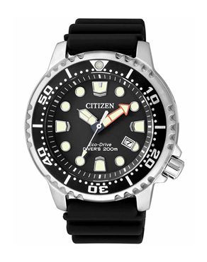 Ρολόι CITIZEN Eco-Drive Divers Black BN0150-10E