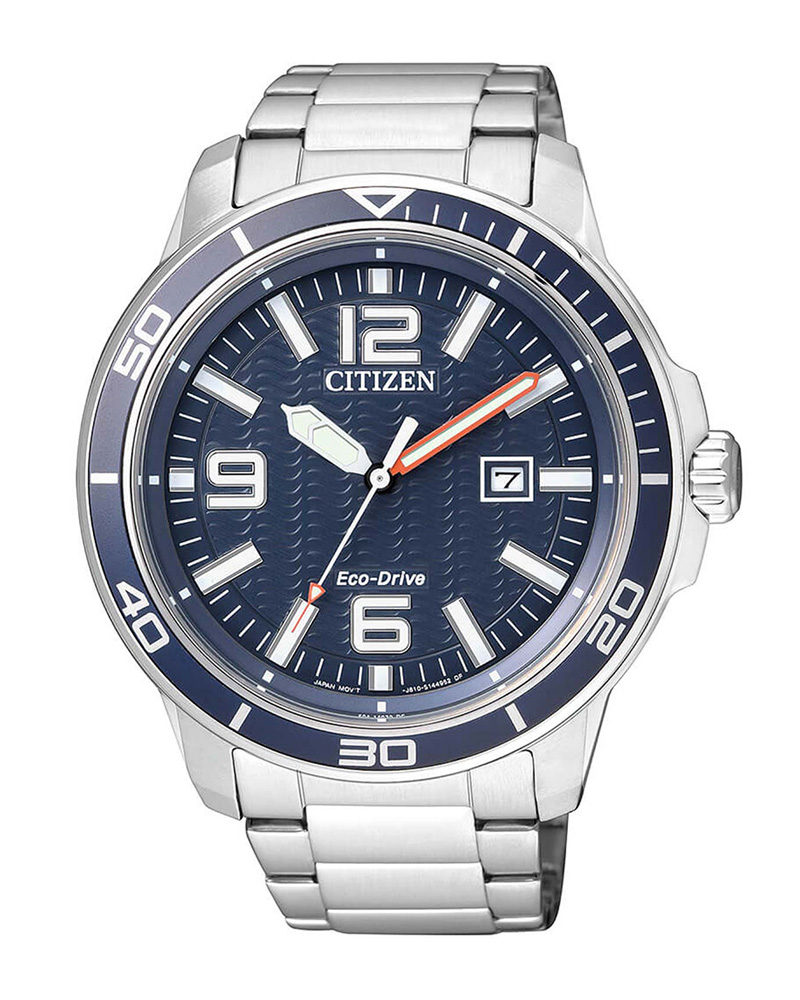 Ρολόι CITIZEN Classic Stainless AW1520-51L   brands citizen