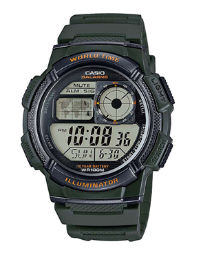 Ρολόι CASIO Collection Digital AE-1000W-3AVEF