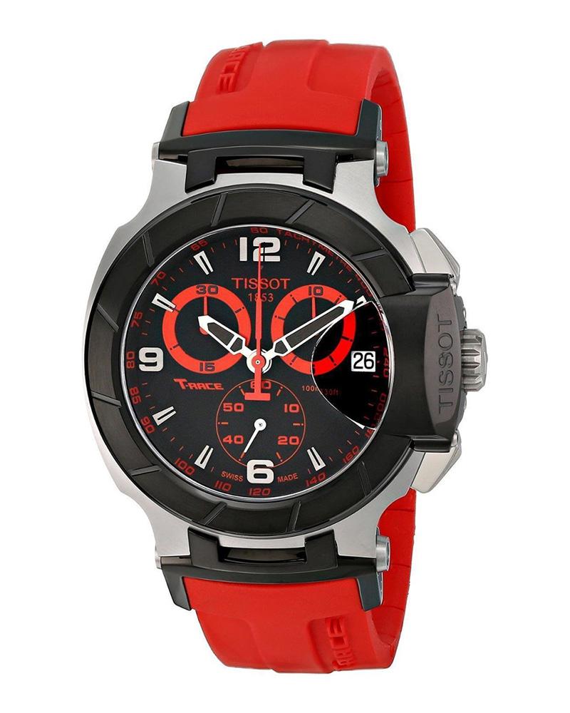Ρολόι TISSOT T-Race Red Rubber T0484172705702   brands tissot