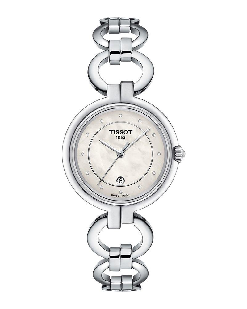 Ρολόι TISSOT T-Lady Flamingo Diamonds T0942101111600   brands tissot ladies