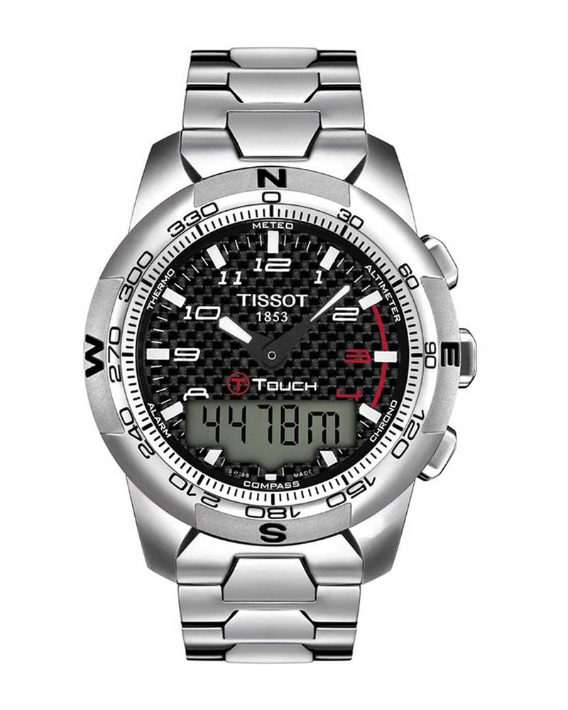 Ρολόι TISSOT TOUCH II Titanium Bracelet T0474204420700   brands tissot