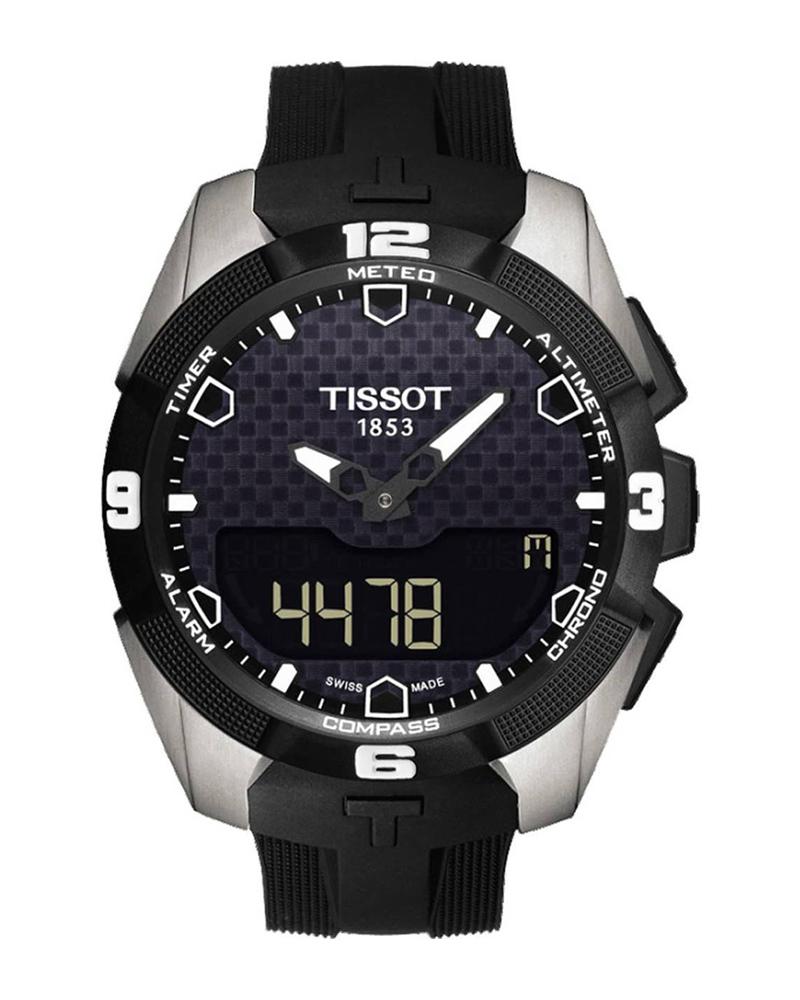 Ρολόι TISSOT T-Touch Expert Solar BlackT0914204705100   brands tissot