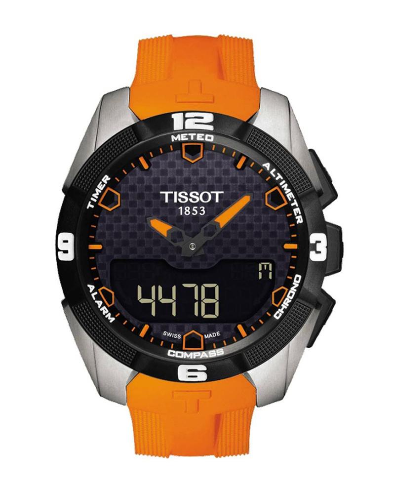 Ρολόι TISSOT T-Touch Expert Solar Orange T0914204705101   brands tissot