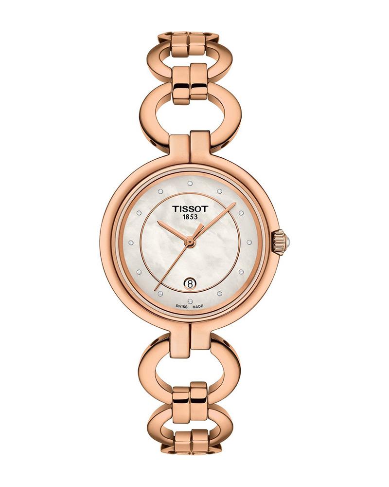 Ρολόι TISSOT T-Lady Flamingo Diamonds T0942103311601   brands tissot ladies