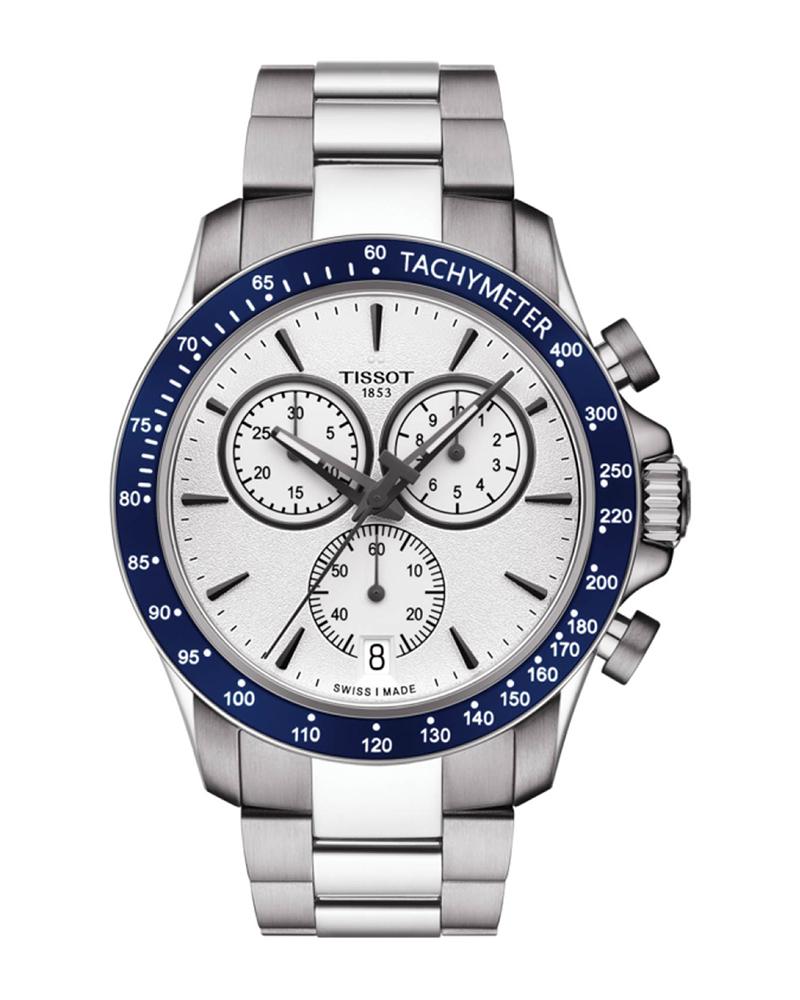 Ρολόι TISSOT V8 Chrono Stainless T1064171103100   brands tissot