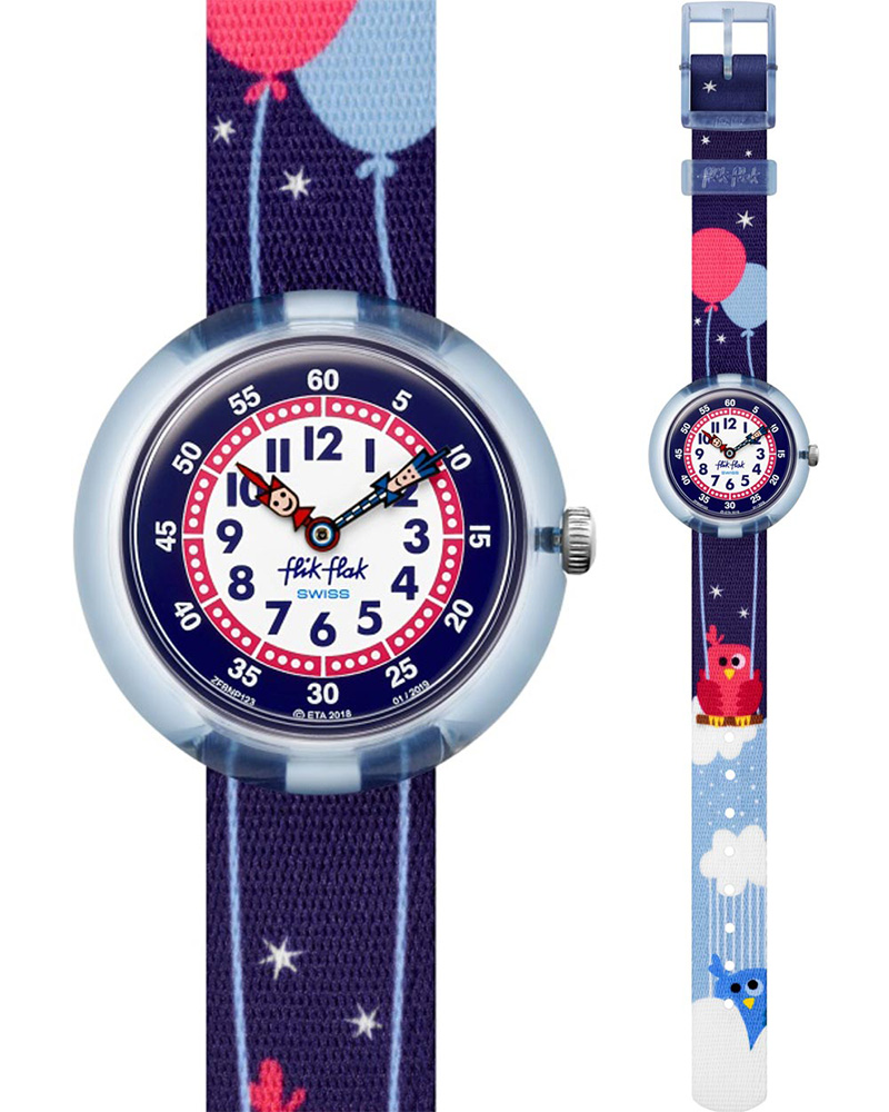 Ρολόι FlikFlak Owly Sky ZFBNP123   brands flik flak