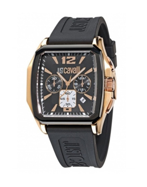Ρολόι Just Cavalli Chronograph Black R7271173525