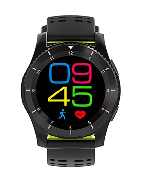 Ρολόι DAS.4 Smartwatch SG10 Black 80013