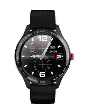 Ρολόι Smartwatch DAS.4 SG08 Black 70031