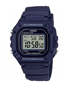 Ρολόι CASIO Collection Digital Blue W-218H-2AVEF