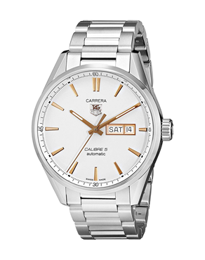 Ρολόι TAG HEUER CARRERA CALIBRE 5 WAR201D.BA0723