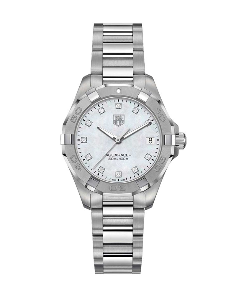 Ρολόι TAG HEUER Aquaracer Diamond Ladies WBD1414.BA0741   brands tag heuer