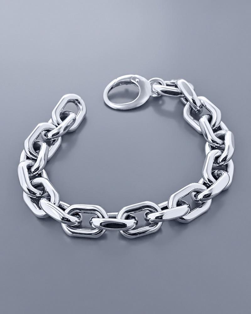 Βραχιόλι κρίκοι λευκόχρυσο Κ18   νεεσ αφιξεισ κοσμήματα γυναικεία