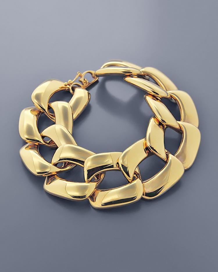 Βραχιόλι κρίκοι χρυσό Κ14   κοσμηματα βραχιόλια βραχιόλια fashion