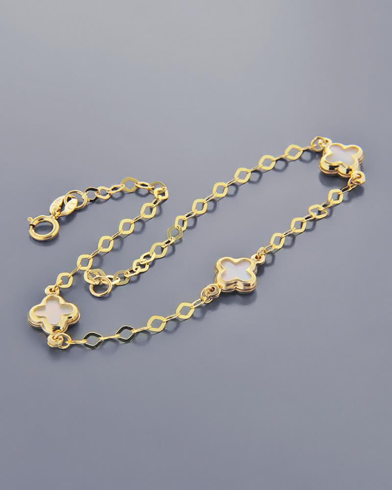 Βραχιόλι φιλτισένια σταυρουδάκια από χρυσό Κ9   παιδι βραχιόλια παιδικά