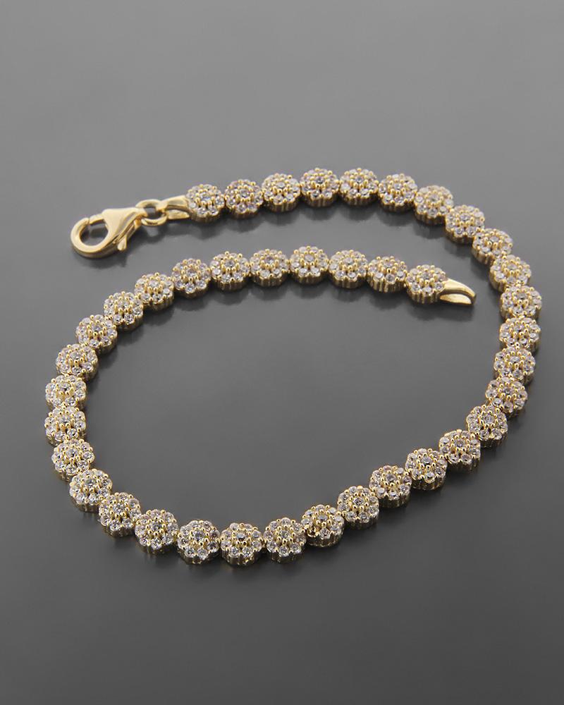 Βραχιόλι Κίτρινο Χρυσό Κ14   νεεσ αφιξεισ κοσμήματα γυναικεία