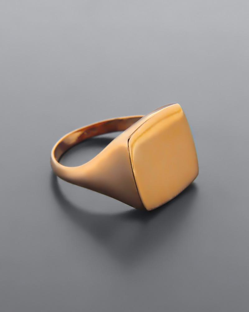 Δαχτυλίδι σεβαλιέ ροζ χρυσό Κ9   κοσμηματα δαχτυλίδια δαχτυλίδια chevalier