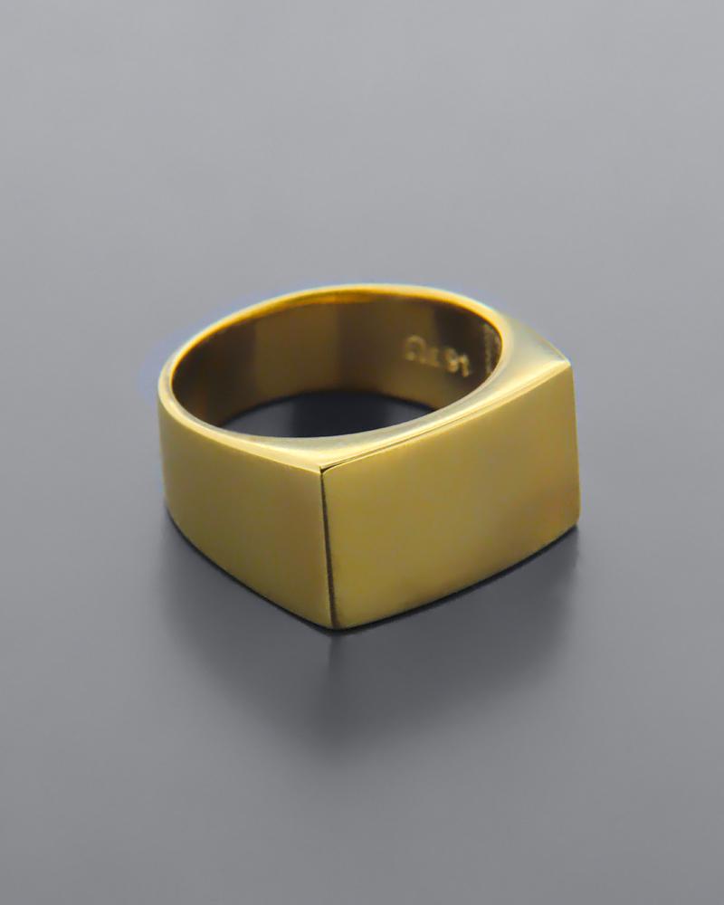 Δαχτυλίδι σεβαλιέ χρυσό Κ9   κοσμηματα δαχτυλίδια δαχτυλίδια chevalier