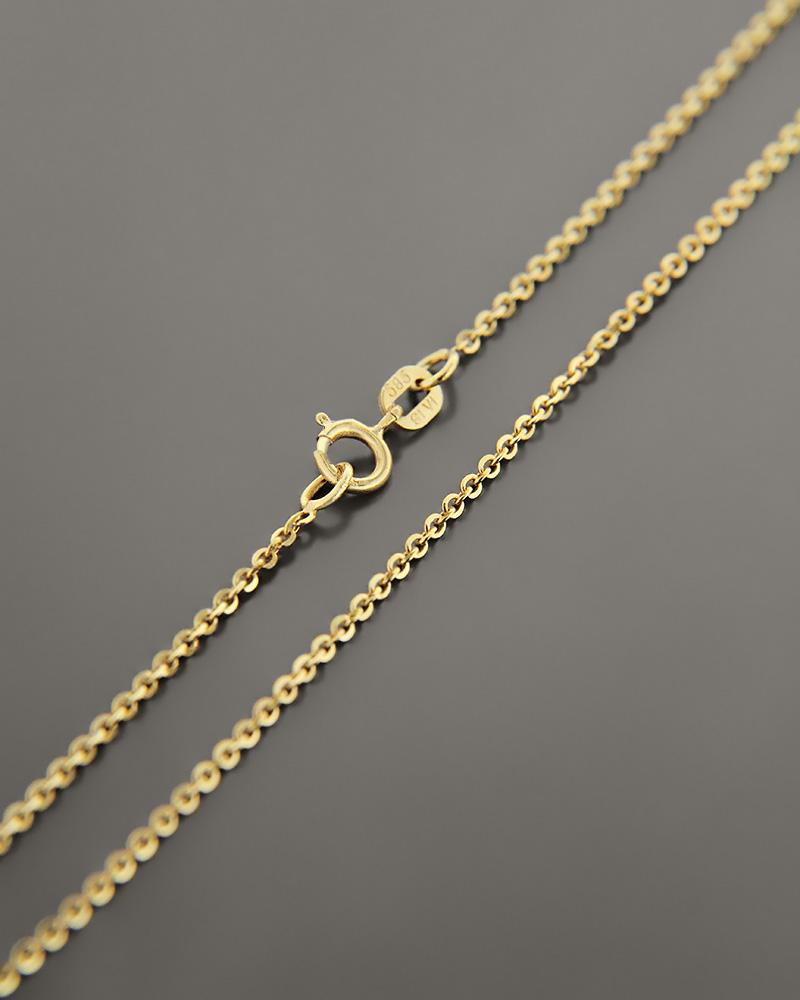Αλυσίδα λαιμού χρυσή Κ14 39,5 cm   παιδι αλυσίδες λαιμού αλυσίδες χρυσές