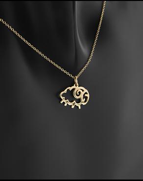 Κρεμαστό ζώδιο Κριός χρυσό Κ14 f68dfd3a94b