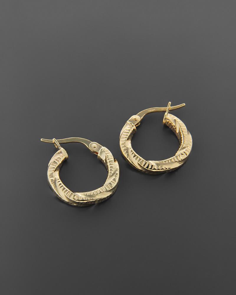 Σκουλαρίκια κρίκοι χρυσά Κ9   κοσμηματα σκουλαρίκια σκουλαρίκια χρυσά