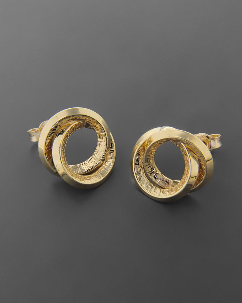 Σκουλαρίκια Κίτρινο Χρυσό Κ9   γυναικα σκουλαρίκια σκουλαρίκια χρυσά