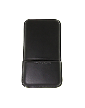 Porsche Design leather Black cigar case(5)